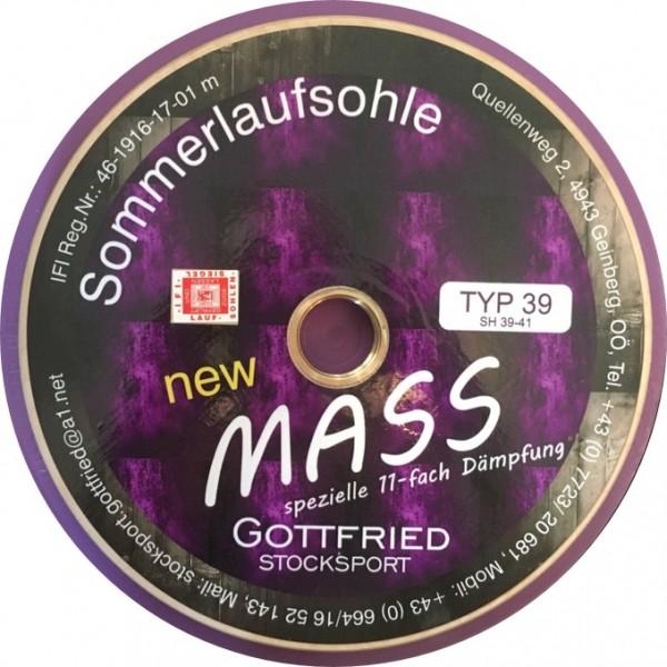 eisstock24 Gottfried Mass glatt Typ 16 Somerlaufsohle