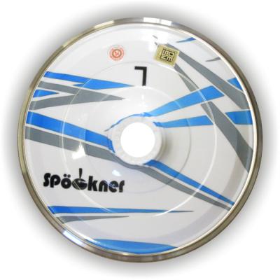 eisstock24 Spöckner Farbenspiel blau/grau Eisstock Stockkörper