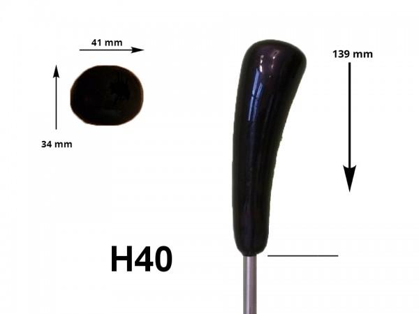 eisstock24 HAIN-Eisstockstiel Griffstück Griffnummer H40