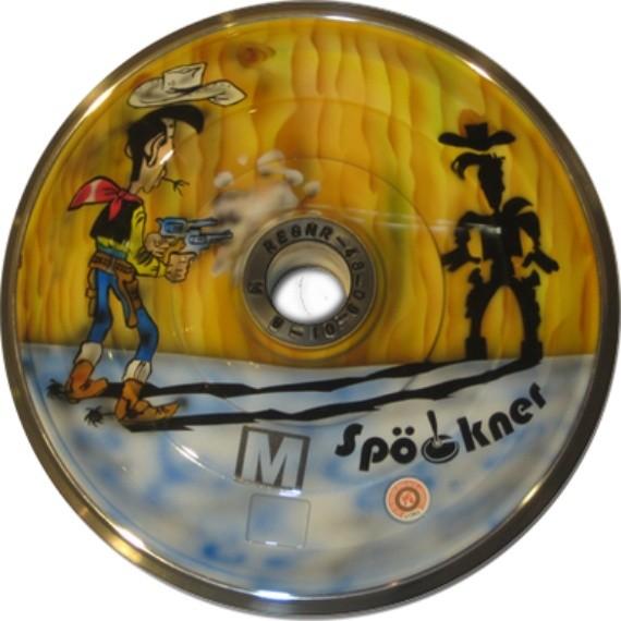 eisstock24 Eisstock Spoeckner Lucky-Luke