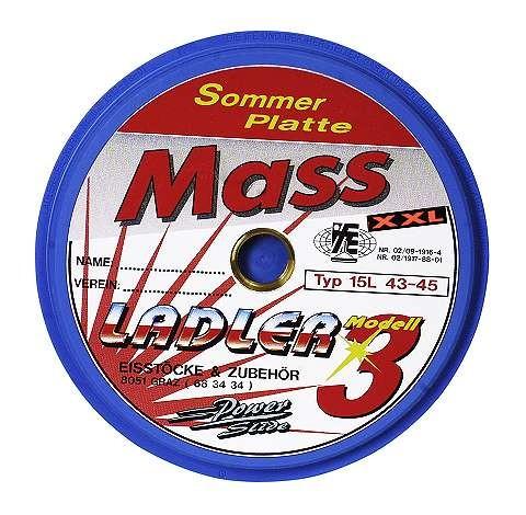 LADLER Modell 3 Massplatte XXL