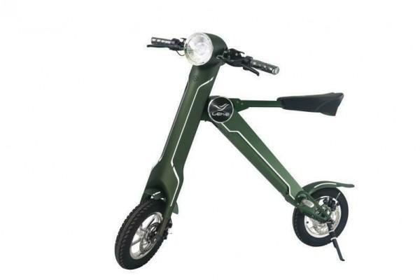 wheels4freaks Lehe K1 mofa Plus olivgrün