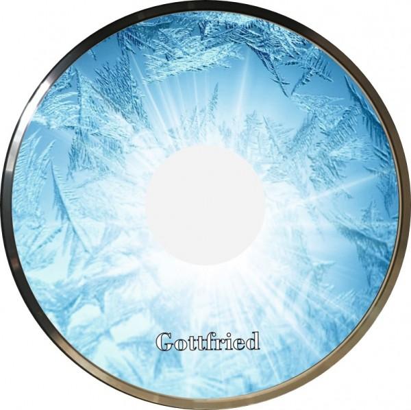 eisstock24 Gottfried Stockkoerper Eisstock EVO 1 Design Ice Blau